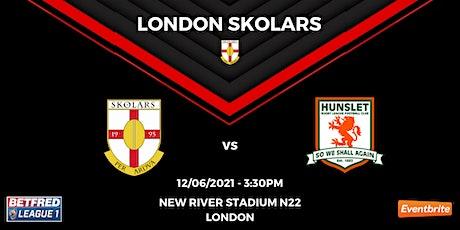 London Skolars vs Hunslet RLFC tickets