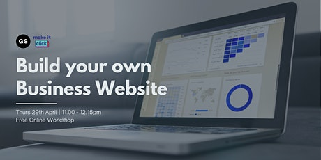 Build your Own Business Website tickets