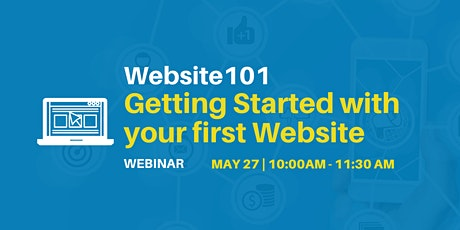 Website 101 - Getting Started with your First Website tickets