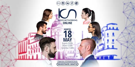 KCN Madrid Norte Speed Networking Online 18May entradas