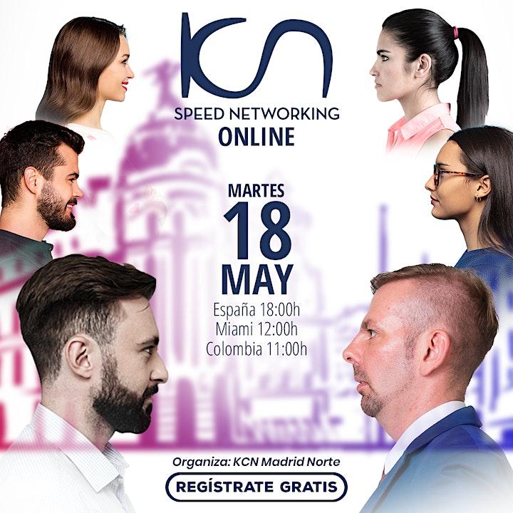 Imagen de KCN Madrid Norte Speed Networking Online 18May