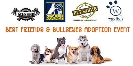 Adoption Event: Best Friends & Bullseyes at Axes & O's tickets