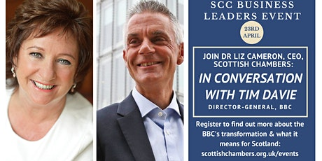 Business Leader Event: In Conversation with Tim Davie, BBC Director-General tickets