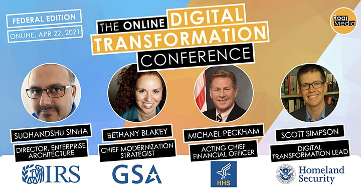 The Online Federal Digital Transformation Conference image