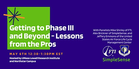 Getting to Phase III and Beyond - Lessons from the Pros tickets