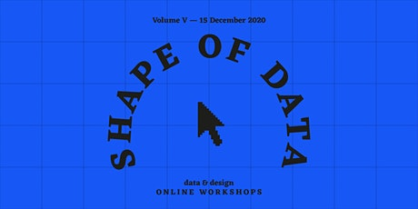 Data, designed. A workshop on data visualization & creative process for all tickets