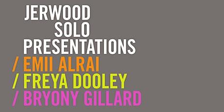 Presenting: Jerwood Solo Presentations 2021 Tickets
