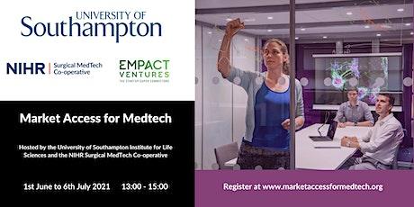 Market Access for MedTech tickets