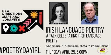 Irish Language Poetry Talk tickets