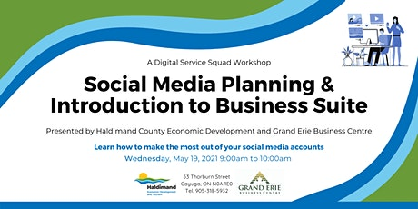 Social Media Planning and Introduction to Business Suite tickets