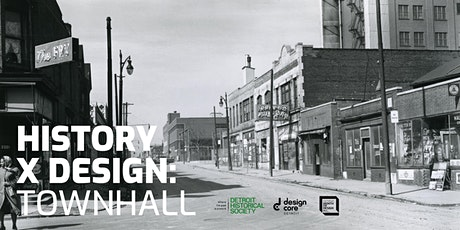 History x Design: Town hall tickets