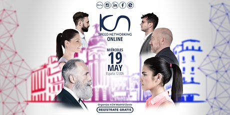 KCN Madrid Oeste Speed Networking Online 19May entradas
