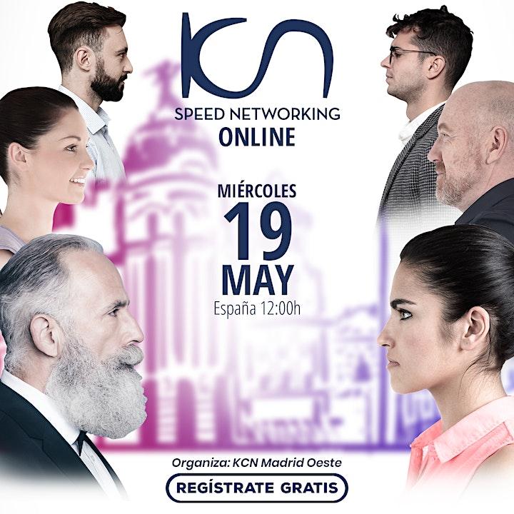 Imagen de KCN Madrid Oeste Speed Networking Online 19May