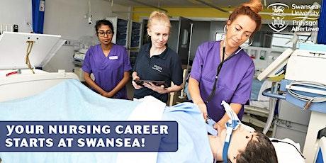 Swansea University, Carmarthen - Virtual Nursing Open Day biglietti