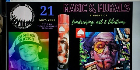 Magic and Murals  featuring Shae Petersen tickets