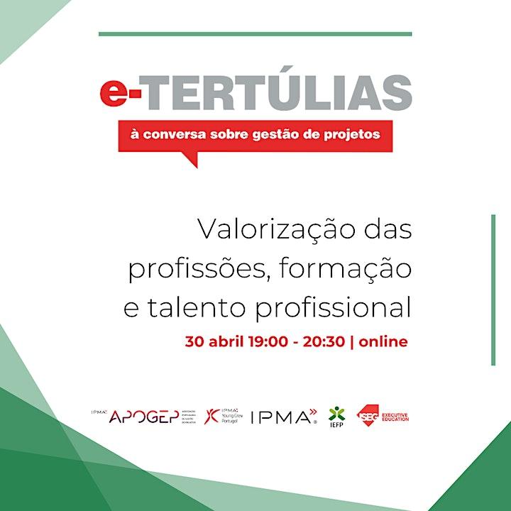 Valorização das profissões, da formação e do talento profissional image