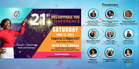 21st Unstoppable You Conference - Maryland (Virtual and In-Person) tickets