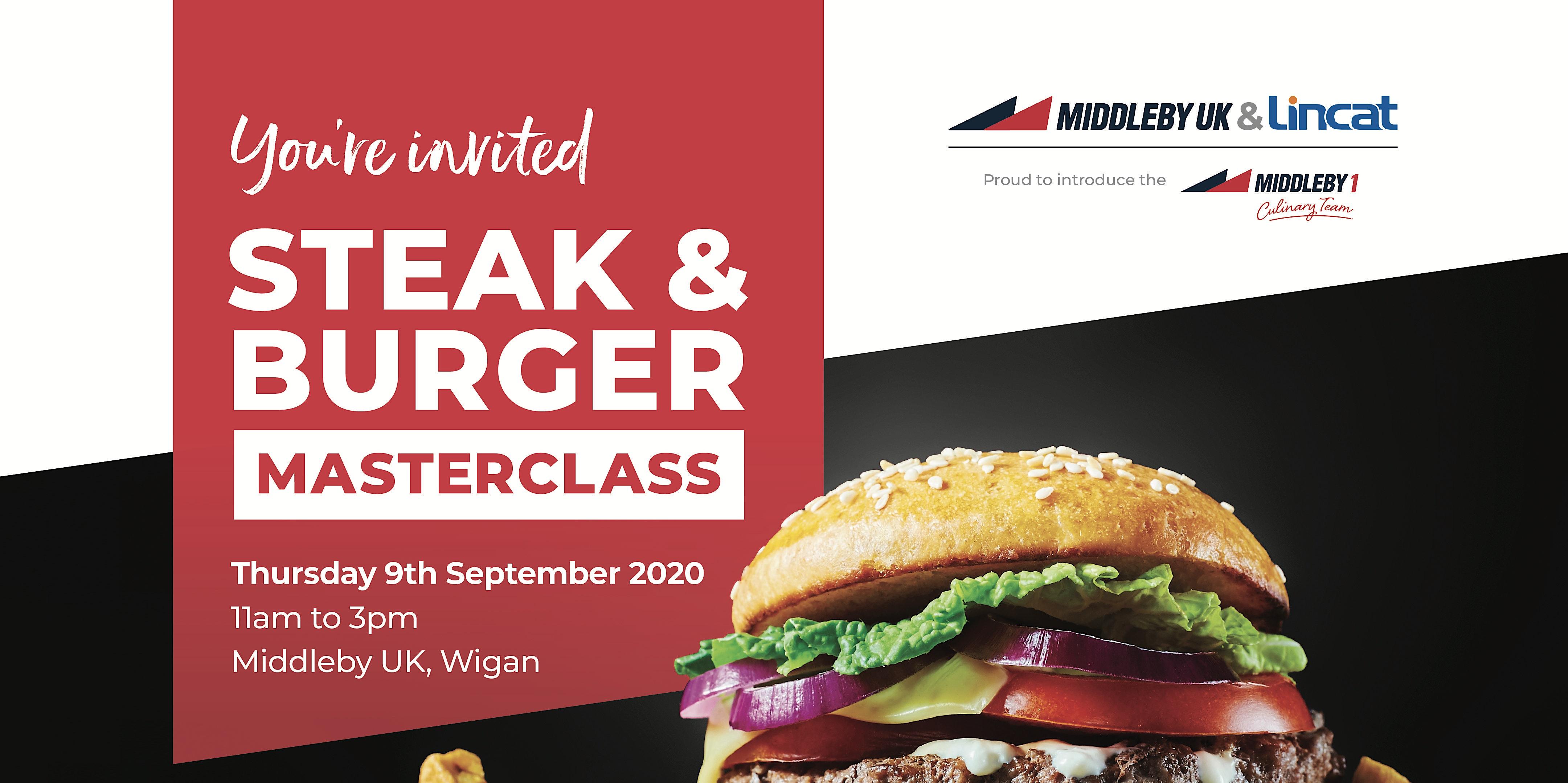 Lincat & Middleby UK Steak &Burger Day