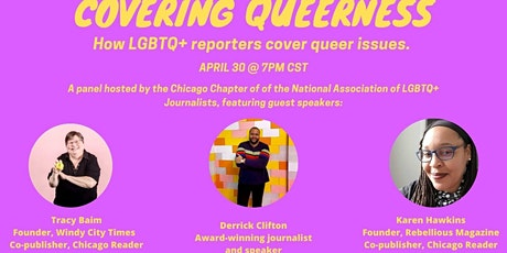 Covering Queerness: how LGBTQ+ reporters cover queer issues tickets