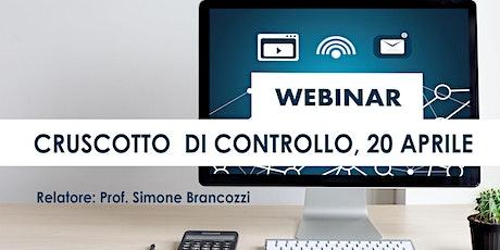 BOOTCAMP CRUSCOTTO DI CONTROLLO, streaming Firenze 20 aprile biglietti