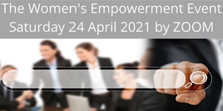 The Women's Empowerment Event Session tickets
