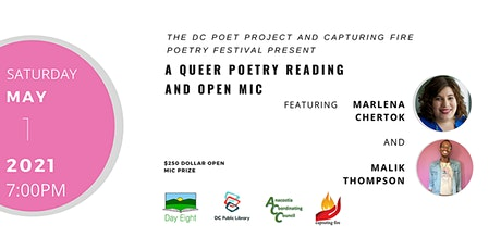 A Queer Poetry Reading and Open Mic tickets