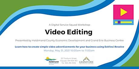 Video Editing biglietti