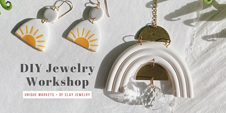 Unique Markets Makers Workshop with Of Clay Jewelry tickets