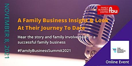 Family Business Insight - Symington Family Estates tickets