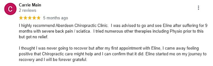 FREE Spinal Health Check image