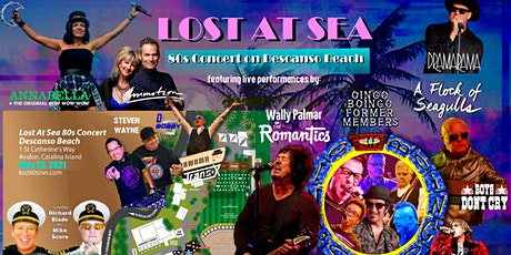 Lost at Sea 80s Beach Party on Catalina Island tickets