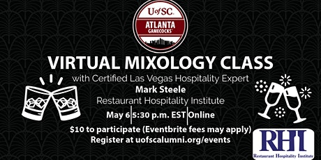 Virtual Mixology with Certified Las Vegas Hospitality Expert tickets