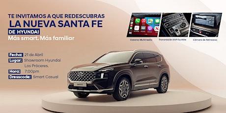 Lanzamiento: Hyundai Santa Fe (El Salvador) boletos