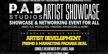P.A.D studios Artist Showcase tickets