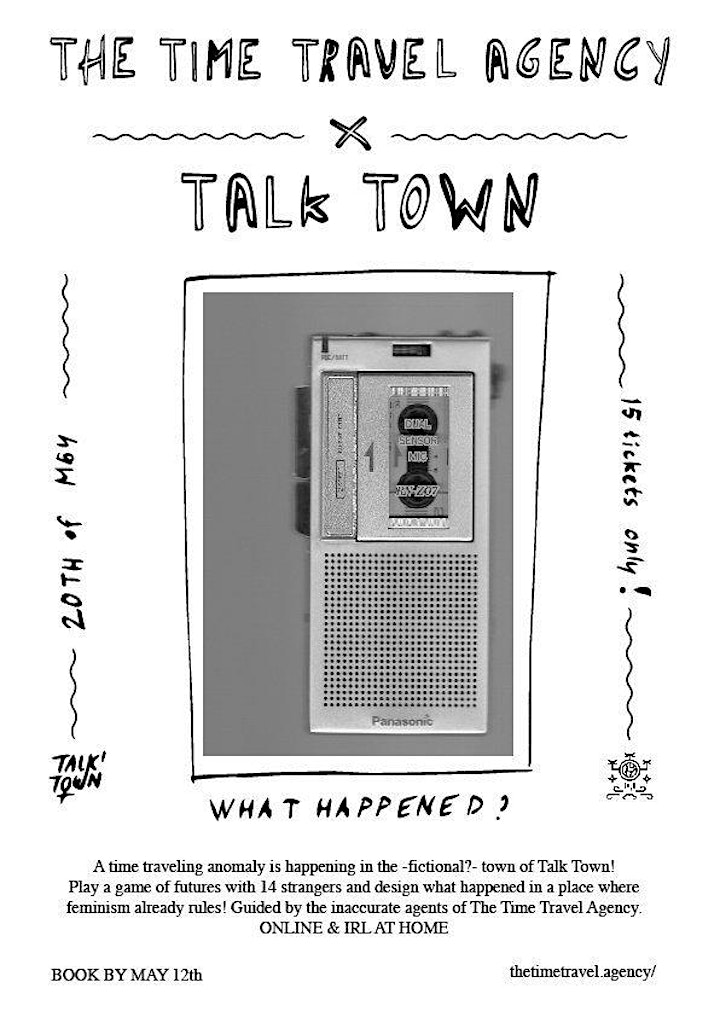 The town of Talk Town x The Time Travel Agency image