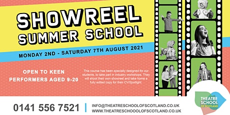 Showreel Course | Summer School tickets