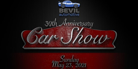 Bevil Automotive 30th Anniversary Car Show tickets