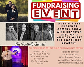 Comedy With A Cause Night tickets
