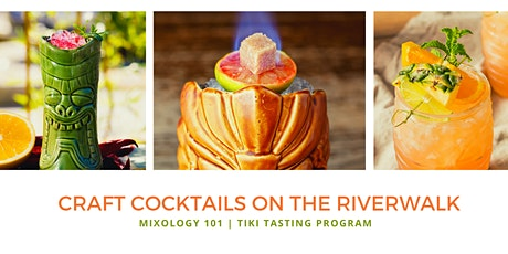CRAFT TIKI COCKTAIL TASTING & WORKSHOP ON THE CHICAGO RIVER tickets
