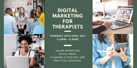 Digital Marketing for Therapists tickets