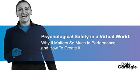 Psychological Safety in a Virtual World tickets