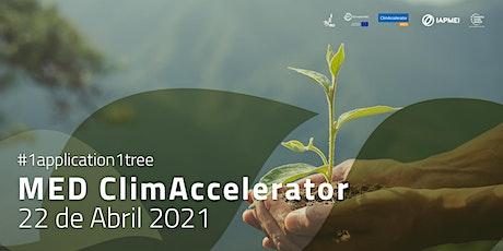 MED ClimAccelerator Info Webinar ingressos