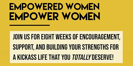 Virtual women's empowerment support group tickets