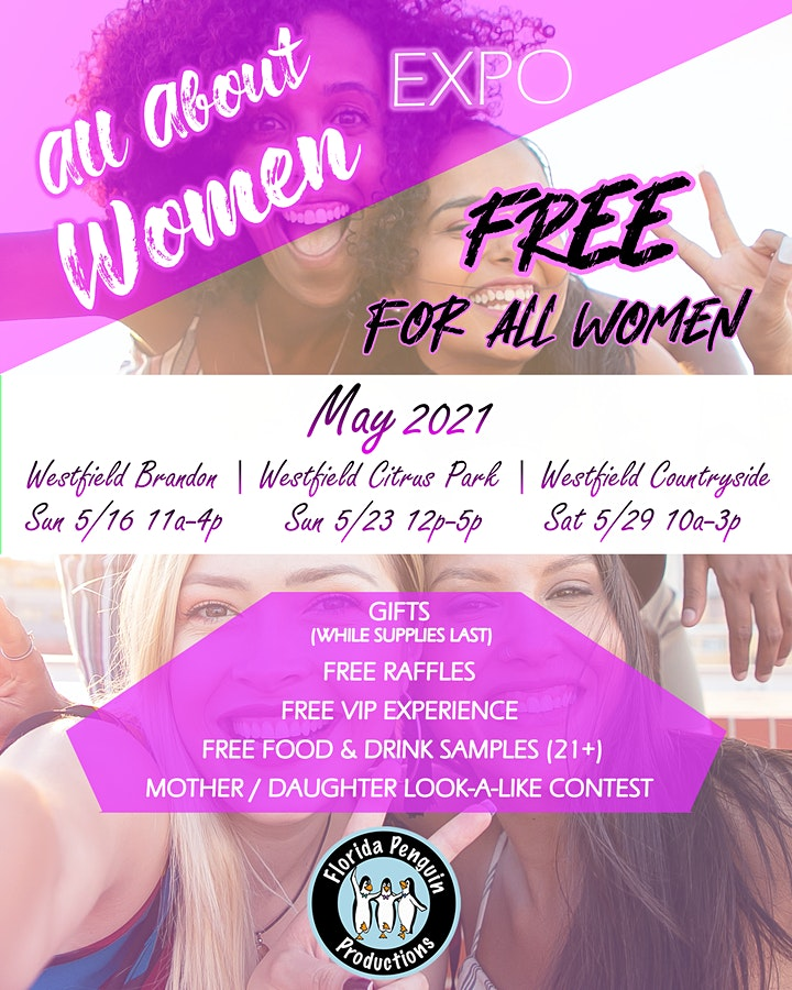 3rd Annual All About Women Expo - Citrus Park Mall image