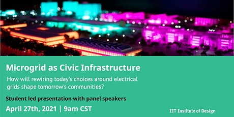 Microgrid as Civic Infrastructure tickets