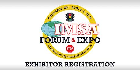 IMSA Forum &  Expo- Exhibitor and Sponsorship Registration tickets