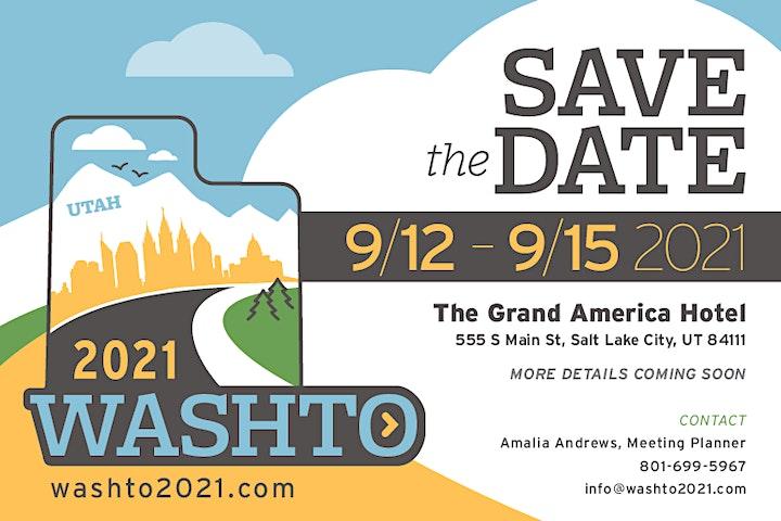 WASHTO 2021 Sponsorship & Exhibitors image