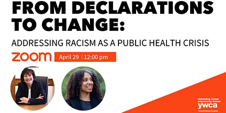 From Declarations to Change: Addressing Racism as a Public Health Crisis tickets