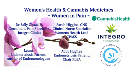 Women's Health And Cannabis Medicines: Women in Pain EO1 tickets