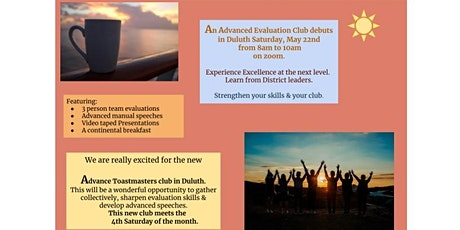 Toastmasters Advanced Evaluations Club Demo tickets